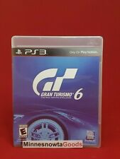 Gran Turismo 6 (Sony Playstation 3, 2013) ~ Tested ~ No Manual ~ Mint!
