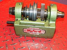 Myford ML10 Completo MKL2 montaje de cabezal en muy buena condición torno de ingeniería