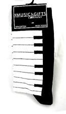 Piano Keyboard Socks - Music Themed Gift _ Musical Socks - Piano Student Gift