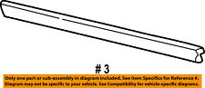 FORD OEM 04-07 Freestar FRONT DOOR-Body Side Molding Right 2F2Z1620878AAA