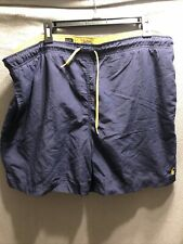 Polo Ralph Lauren Men's Board Shorts Swim Trunks Blue And Yellow Size XL