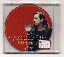 Cd PROMO DANIELE SILVESTRI Pozzo dei desideri - 1999 cds singolo single