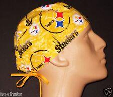 PITTSBURGH STEELERS GOLD SCRUB HAT! / FREE CUSTOM SIZING