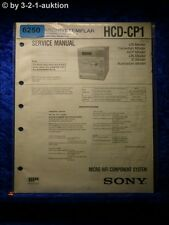 Sony Service Manual HCD CP1 Component System (#6250)