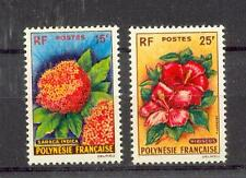 Polynésie Français 20/21 Fleurs (MNH)