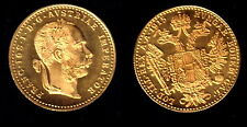 AUSTRIA 1915 GOLD DUCAT--A PROVEN IDEAL BULLION COIN--GEM BU AND A SPECIFIC DATE