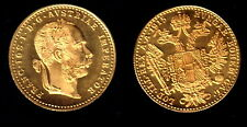 STUNNING ABSOLUTELY PROOFLIKE GEM BU AUSTRIA 1915 GOLD DUCAT-IDEAL BULLION COIN-