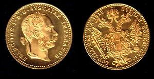 GREAT BULLION BUY GOLD  COIN---PROOF LIKE  BU AUSTRIA 1915 GOLD DUCAT--NEAR MELT