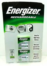 Energizer Rechargeable 2100 mAh NiMH (AA) Batteries 8 Batteries Total Brand New