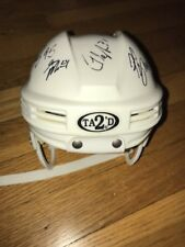 1998 Pittsburgh Penguins 12 Team Member Signed Autographed Mini Helmet Morozov +