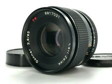【EXCELLENT MMG!】Contax Carl Zeiss Sonnar T*  85mm F/2.8 MMG Lens From JAPAN