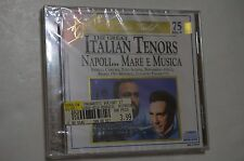NEW Classic Gold: The Great Italian Tenors Napoli Mare e Musica (CD, Excelsior)