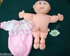 13 Cabbage Patch Kid DOLL Birth Ctf CINA GAIL Dec 15 BLUE Eye CPK CLOTHES Mattel