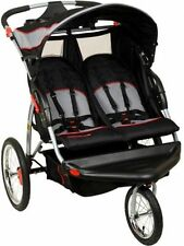 Baby Trend Double Jogger, Millennium Twin Baby Infant Jogging Buggy Foldable
