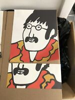 1968 BEATLES - YELLOW SUBMARINE John Lennon Stationary Paper & Envelope 2pcs NM+