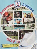 1976 Palm Spring Golf Classic Autographed Program Joe Dimaggio Willie Mays...