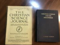 VINTAGE CHRISTIAN SCIENCE BOOKS LOT OF 2