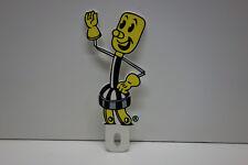 Power Company's Willie Wiredhand Reddy Kilowatt LICENSE PLATE TOPPER !!!