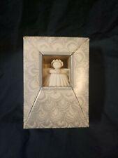 "1988 Margaret Furlong 3"" Sea Shell Christmas Ornament Angel w/ Box"