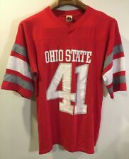 Ohio State Buckeyes Vintage T Shirt 1980's Jersey College Football Team Logo 7