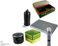 Mann-Filter + Air Cleaner For Iveco Daily V Pickup/Chassis Trailer