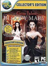 GRIM TALES: BLOODY MARY Collectors Edition Hidden Object PC game -New
