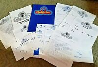 1983 Pabst BLUE RIBBON Beer advertising agency promotional packet ANYTHING GOES