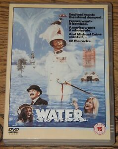 WATER 1985 MICHAEL CAINE BILLY CONNOLLY OOP UK R2 DVD WITH ENGLISH SUBTITLES