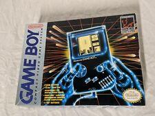 Nintendo Gameboy Console DMG-01 w/ Original Box - Tetris Link Cable Headphones