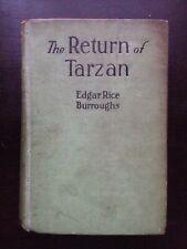 EDGAR RICE BURROUGHS RETURN OF TARZAN J. ALLEN ST. JOHN ART A.L. BURT REPRINT