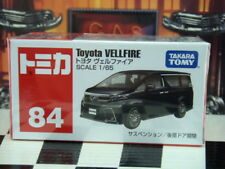 TOMICA #84 TOYOTA VELLFIRE 1/65 SCALE NEW IN BOX