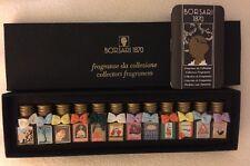 Borsari 1870 Collectors Fragrances Unopened 12 - 1/4 Oz Bottles Different Scents