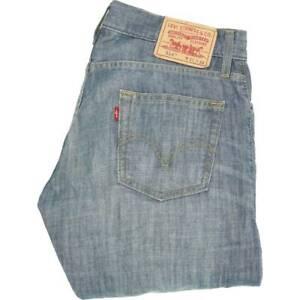 Levi's 514   Bleu Straight Slim  Jeans W31 L34 (46661)
