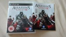 Assassin's Creed II (2) for PS3 complete excellent condition