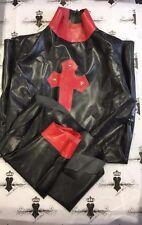 R526 Elle NUNS HABIT AND DRESS Latex Rubber Slight Seconds Size 14 UK