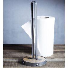 Kitchen Craft industrial cocina Portarrollos de toallas de papel-Metal/Madera de Mango