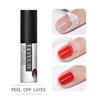 LILYCUTE 5ml Peel Off Liquid Tape Nagel Gellack Odorless Soak Off Nagel Kunst