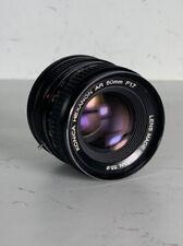 KONICA HEXANON AR 50mm F/1.7 (With MFT Adaptor)