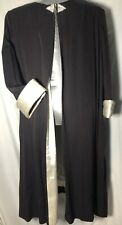 Evening Cloak Jessica Howard size 22 Pre Owned Long Black Top Rheinstone Closure