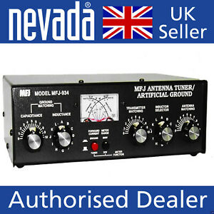 MFJ-934 combined antenna tuner/ artificial ground for HF bands