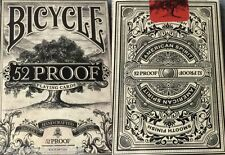 52 Proof Deck Bicycle Playing Cards Poker Size USPCC New Limited Ed. Ellusionist