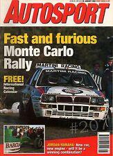Japanese Racing - PORCHE CARRERA 4 ... Autosport Magazine 30 January 1992