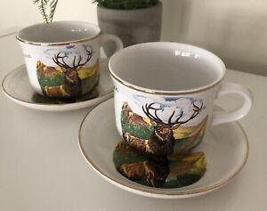 VINTAGE -Antlers -  John O'Groats - Stokes On Trent Liverpool Pottery Ltd