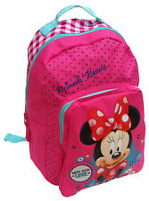 Disney Minnie Maus Kinder Rucksack 30 cm Kindergarten Tasche Mouse pink Mädchen