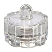2X(Led Kerze flackernd Teelicht LED Wachs Kerzen Teelichter Party Deko Wasser S2