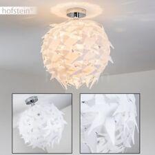 Design Wohn Flur Küchen Zimmer Leuchten Schlaf Lampen Chrom Deckenleuchte Federn
