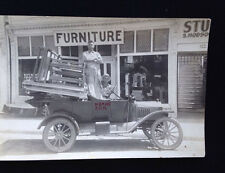 Antique Photograph Noah's Furniture Store And Delivery Vehicle Noah's Ark