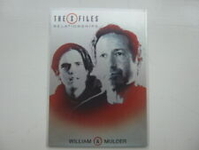 X Files Seasons 10 &11 Relationships Chase Card R10  William & Mulder