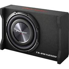 "Pioneer TS-SWX2502 400 W 10"" Subwoofer Sealed LOADED Enclosure"