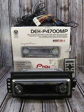 Pioneer Deh-P4700Mp Car Cd/Mp3/Wma Player/Receiver Fmam Radio 50W Untested As Is